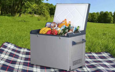 plug in iceless electric cooler